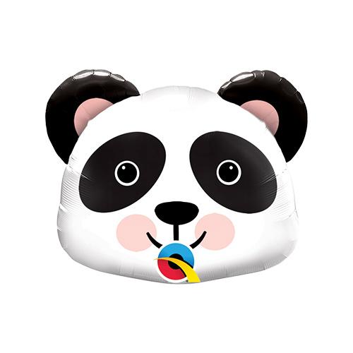 Mini Precious Panda Air Fill Foil Qualatex Balloon 35cm / 14 in Product Image