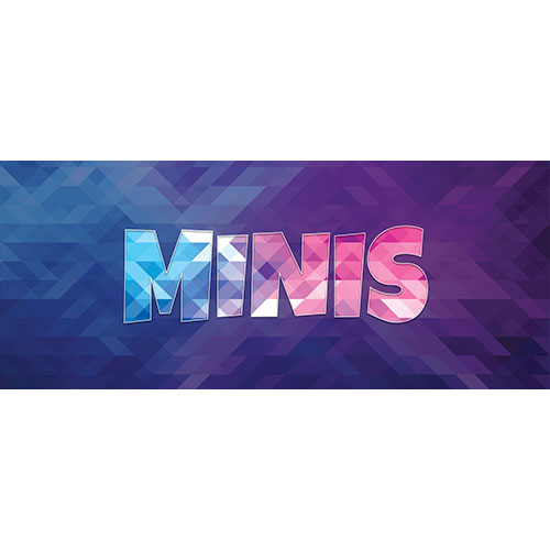 Minis Home Screen Background PVC Party Sign Decoration 60cm x 25cm Product Image