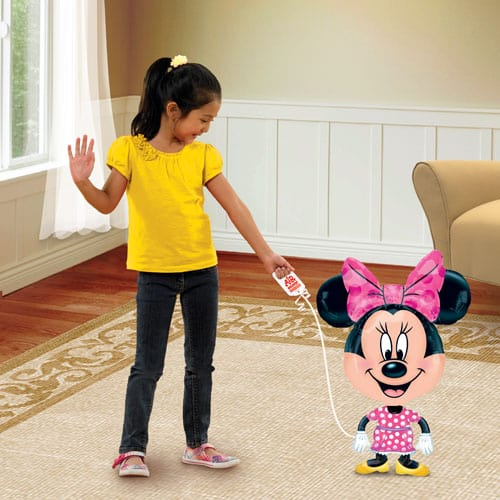 Minnie Mouse Airwalker Foil Helium Balloon Buddy 76cm / 30Inch Product Image