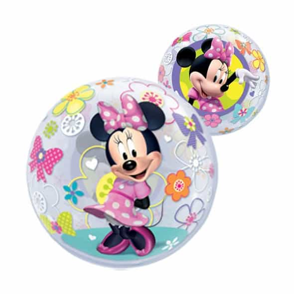 Minnie Mouse Clubhouse Friends Bubble Helium Qualatex Balloon 56cm / 22 in Product Image