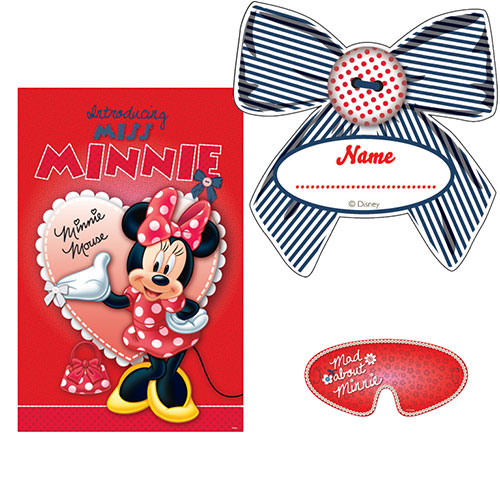 Minnie Mouse Party Game Product Image