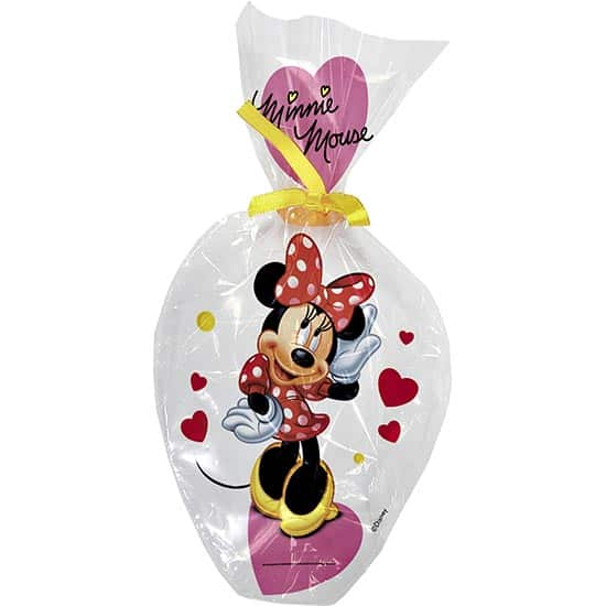 Minnie Mouse Cello Treat Bags - Pack of 6