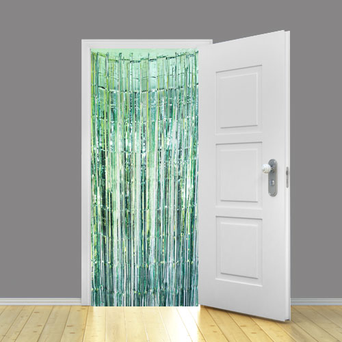 Mint Green Metallic Shimmer Curtain 95cm x 200cm - Pack of 5 Product Image