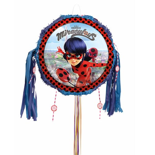 Miraculous Ladybug Pull String Pinata Product Image
