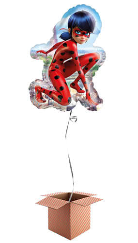 Miraculous Ladybug Helium Foil Giant Balloon - Inflated Balloon in a Box Product Image