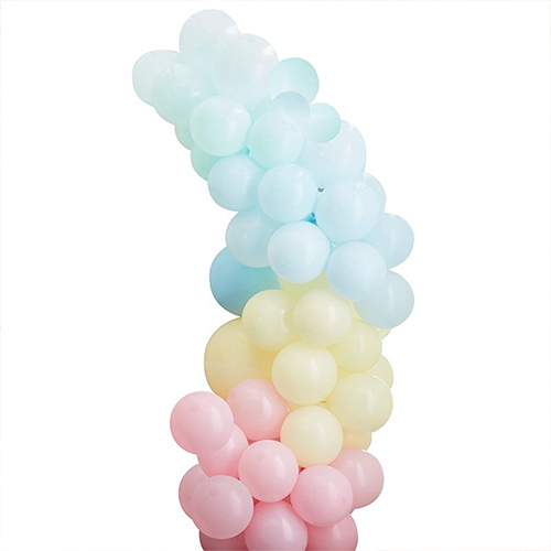 Mixed Pastel DIY Garland Balloon Arch Kit Product Gallery Image
