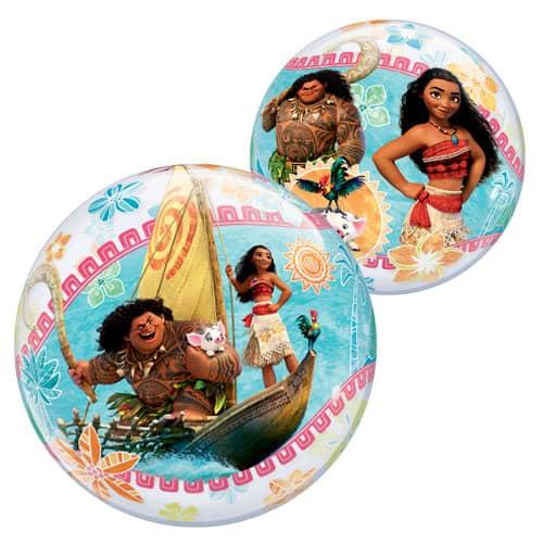Disney Moana Bubble Helium Qualatex Balloon 56cm / 22 in Product Image