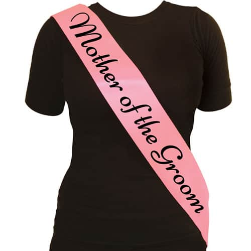 Mother Of The Groom Sash Product Image