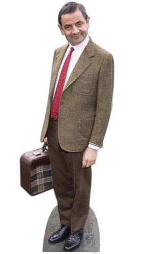 Mr Bean Lifesize Cardboard Cutout - 179cm Product Gallery Image