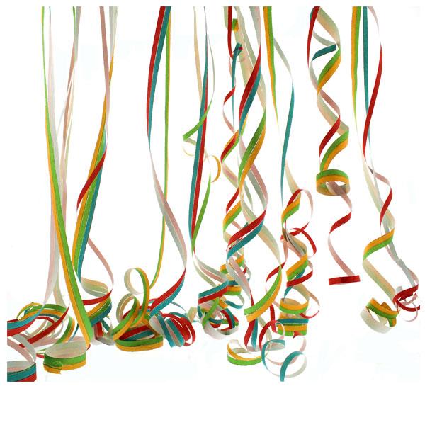 Multi Colour Serpentines - 40 Throws
