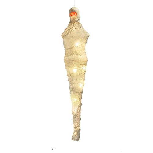 Mummy Halloween Animated Prop Hanging Decoration 100cm