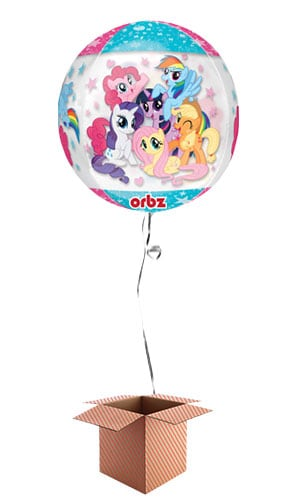 My Little Pony Clear Orbz Balloon - Inflated Balloon in a Box Product Image