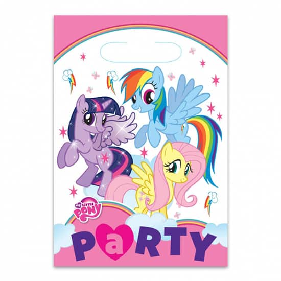 My Little Pony Loot Bags - Pack of 8