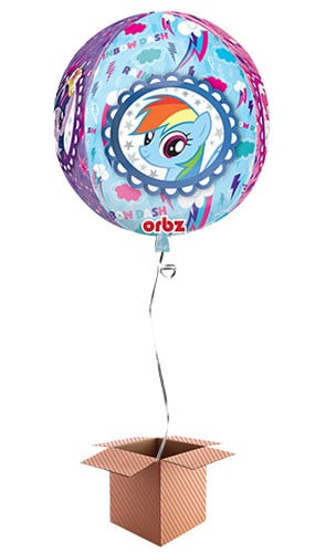 My Little Pony Orbz Foil Balloon - Inflated Balloon in a Box Product Image
