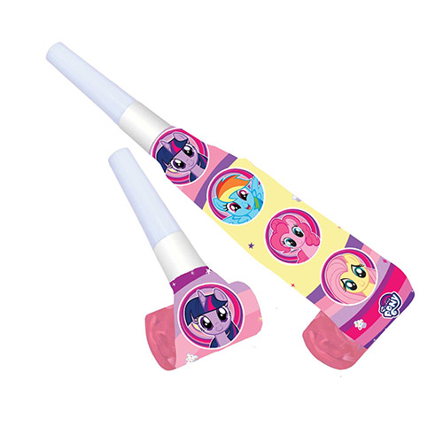 My Little Pony Paper Blowouts - Pack of 8