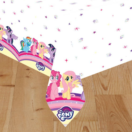 My Little Pony Plastic Tablecover 180cm x 120cm Product Image