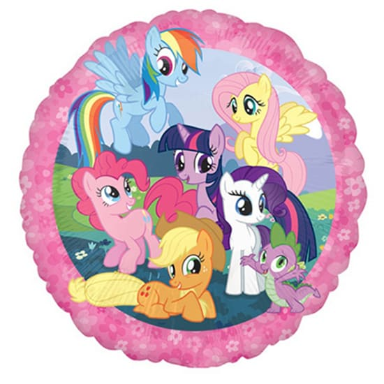 My Little Pony Round Foil Helium Balloon 43cm / 17Inch Product Image