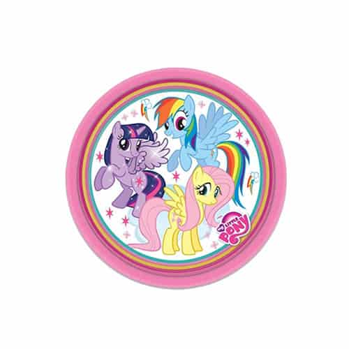 My Little Pony Round Paper Plate - 7 Inches / 18cm