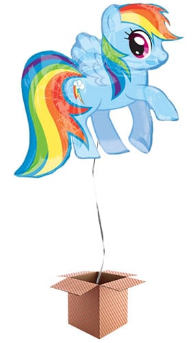 My Little Pony Helium Foil Giant Balloon - Inflated Balloon in a Box Product Image