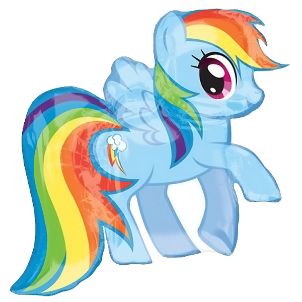 My Little Pony Helium Foil Giant Balloon 71cm / 28 in Product Image