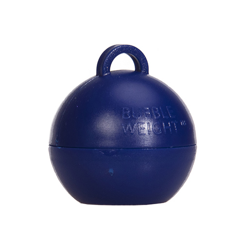 Navy Blue Bubble Balloon Weight 35g Product Image