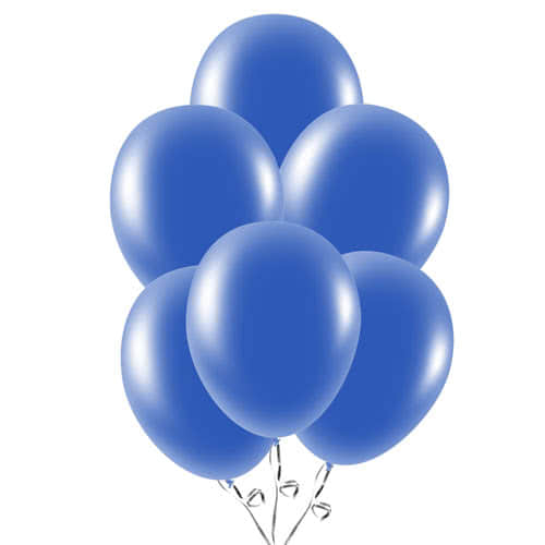 Navy Blue Latex Balloons 23cm / 9Inch - Pack of 30 Product Image
