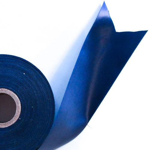 Navy Blue Satin Faced Ribbon Reel 45mm x 50m