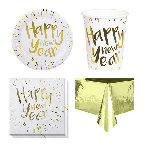 New Year Gold 6 Person Value Party Pack