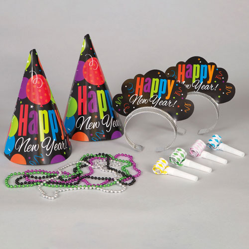 New Years Cheer Party Kit For Four