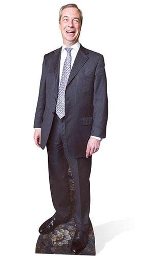 Nigel Farage Lifesize Cardboard Cutout - 181cm Product Image