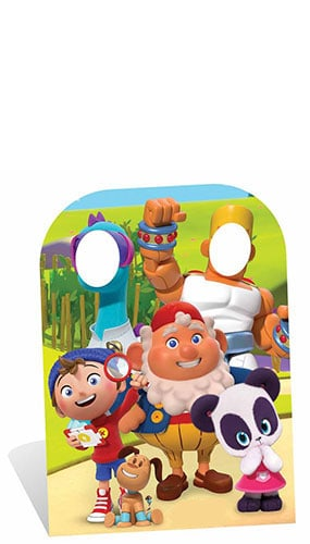 Noddy Child Size Stand In Cardboard Cutout -130cm Product Image