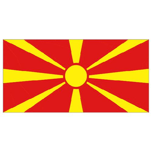 North Macedonia Flag - 5 x 3 Ft