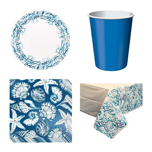 Ocean Blue Reef 8 Person Value Party Pack Product Image