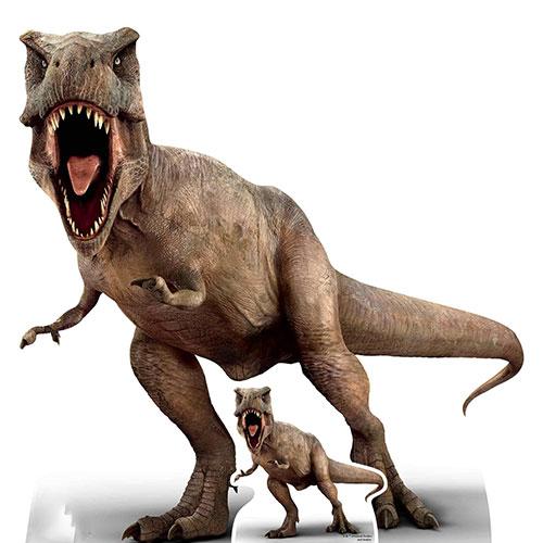 Official Jurassic World T-Rex Tyrannosaurus Rex Dinosaur Lifesize Cardboard Cutout 100cm