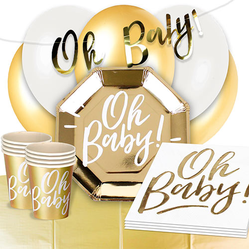 Oh Baby 16 Person Deluxe Party Pack
