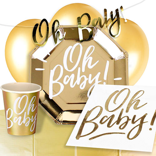 Oh Baby 8 Person Deluxe Party Pack