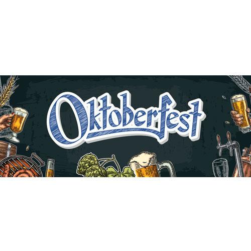 Oktoberfest Illustration Large PVC Banner Decoration 3m x 1.2m Product Image