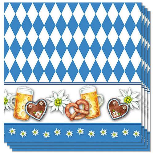 Oktoberfest Luncheon Napkins 3Ply 33cm - Pack of 20
