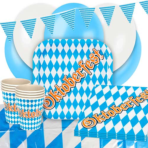 Oktoberfest 12 Person Deluxe Party Pack Product Image