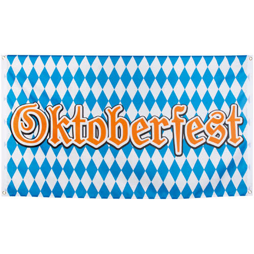 Oktoberfest Polyester Flag 150cm Product Gallery Image