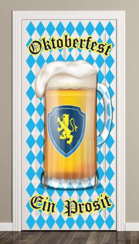 Oktoberfest Ein Prosit Door Cover PVC Party Sign Decoration 66cm x 152cm Product Image