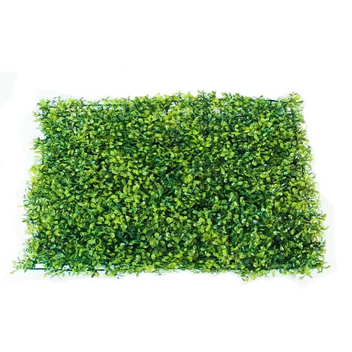 Olive Green Artificial Plant Wall Panel Background 60cm x 40cm Product Image