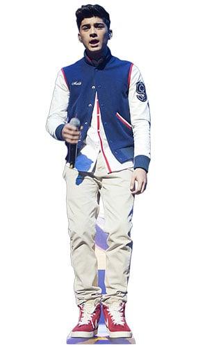 One Direction Zayn Malik Performing Lifesize Cardboard Cutout - 167cm Product Image