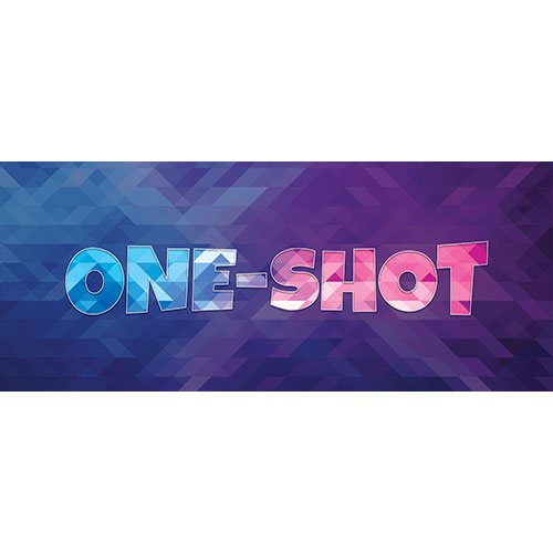 One-Shot Home Screen Background PVC Party Sign Decoration 60cm x 25cm Product Image