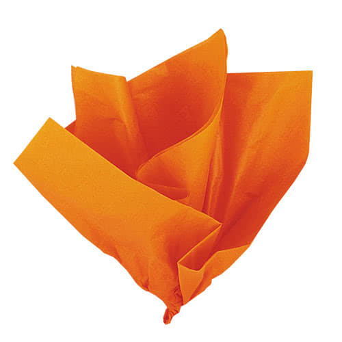 Orange Tissue Gift Paper - Pack of 10 Product Image