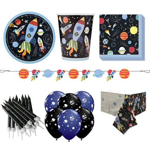 Outer Space 8 Person Deluxe Party Pack