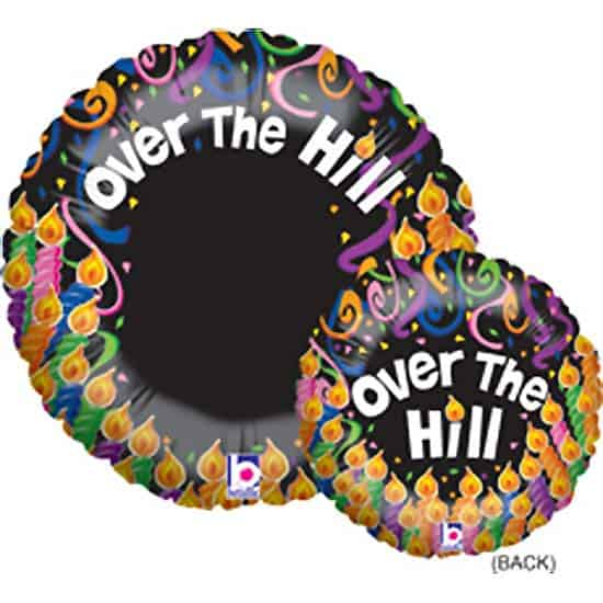 Over The Hill Photo Balloon Foil Helium Balloon 53cm / 21Inch Product Image