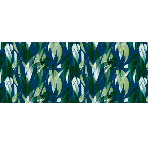 Painted Leaves PVC Party Sign Decoration 60cm x 25cm Product Image