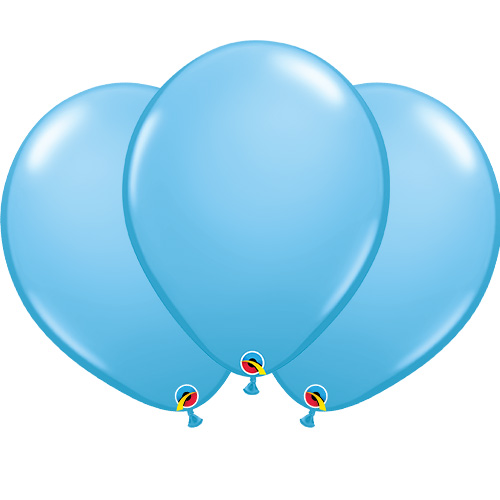 Pale Blue Latex Qualatex Balloons 40cm / 16 in - Pack of 50 Product Image