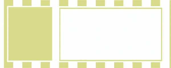 Pale Green Stripes Design Large Personalised Banner - 10ft x 4ft